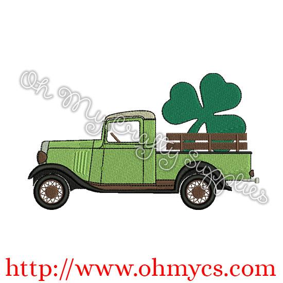 St.Pat Vintage Truck Pic