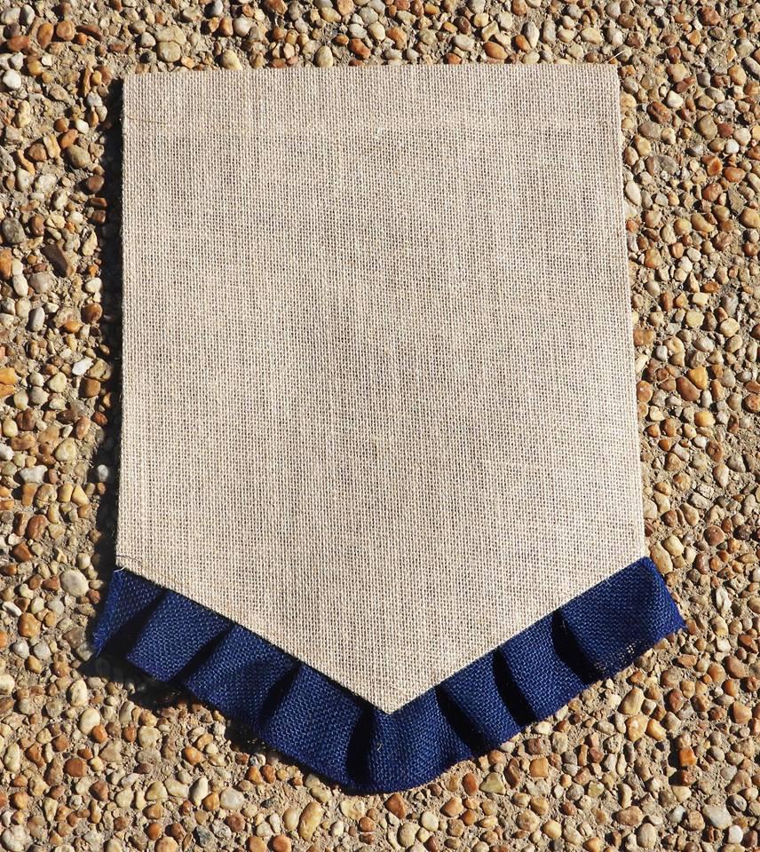 Garden Flag (Dark Blue)