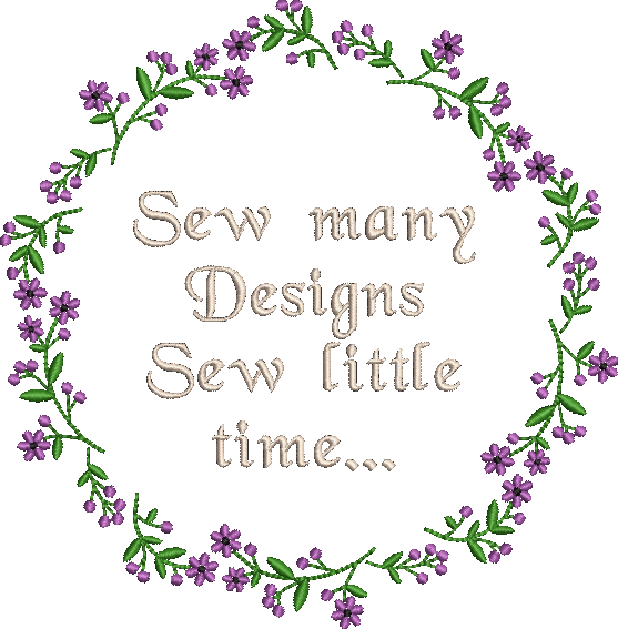 Sew Many Embroidery Design