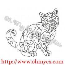 Doodle Cat Picture