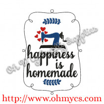 Happiness is homemade picture