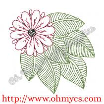 Henna Flower Design Picture