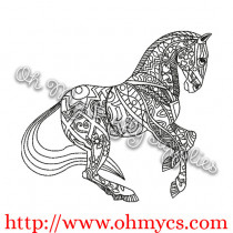 Henna Horse Picture
