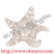Henna Starfish Picture