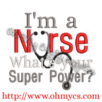 Nurse Super Power Picture