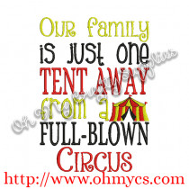 Our Family Circus Picture