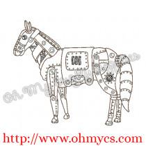 Steam Punk Horse Picture