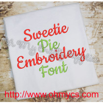 Sweetie Pie Font Pic