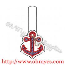 ITH Anchor Key Fob Design