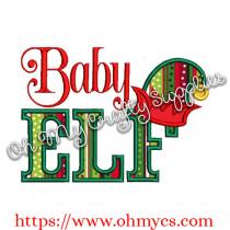 Baby Elf Applique Design