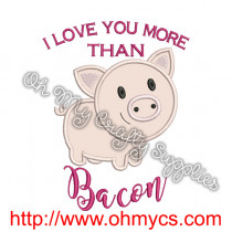 bacon pig pic