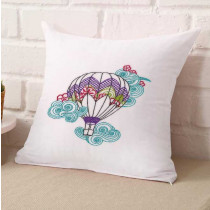 Henna Hot Air Ballon Embroidery Design