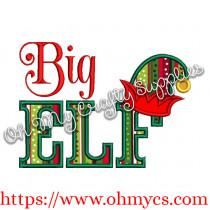 Big Elf Applique Design