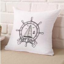 Let's Set Sail Embroidery Design