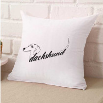 Dachshund Name Embroidery Design