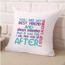 Falling Best Friend Embroidery Design