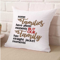 Crazy Family Photo Embroidery Design