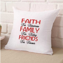 Faith Family Friends Embroidery Design