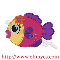 Fishy Applique Design