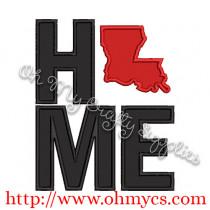 Home Louisiana Applique Design