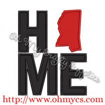 Home Mississippi Applique Design
