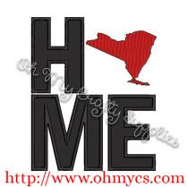 Home New York Applique Design