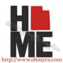 Home Utah Applique Design