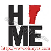 Home Vermont Applique Design