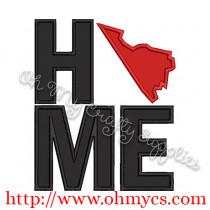 Home Virginia Applique Design