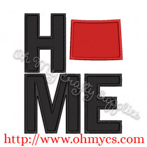 Home Wyoming Applique Design