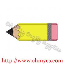 Pencil Applique Design