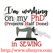 PhD in Sewing Embroidery Design