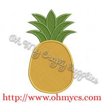 Pineapple Applique Design