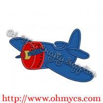 Airplane Applique Design