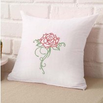 Satin Rose  Embroidery Design
