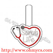 ITH Scrub Life Key Fob
