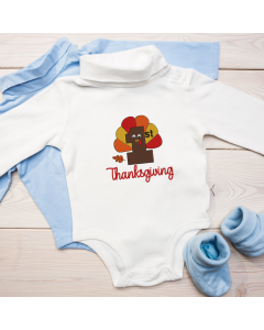 1st Thanksgiving 2020 Embroidery Design
