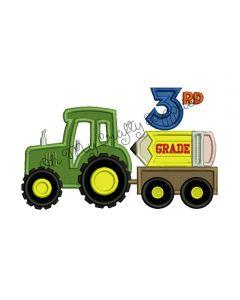 3rd grade tractor