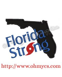 Florida Strong Applique Design