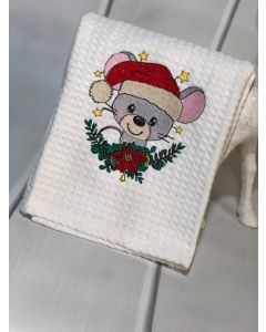 The Christmas Mouse Embroidery Design