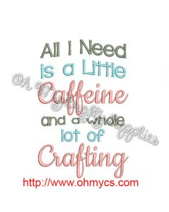 Caffeine and Crafting Picture