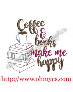 Coffee and books Picture