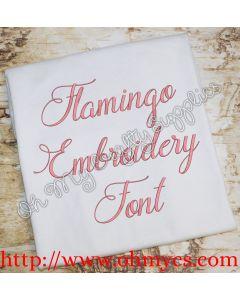 Flamingo Font Picture