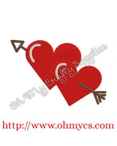 Hearts with Arrow Picture