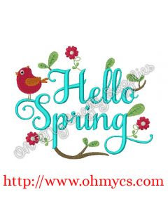 Hello Spring Picture