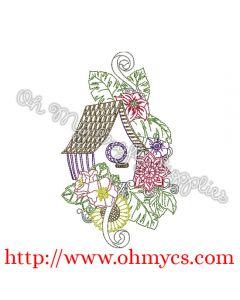 Henna Bird House Picture
