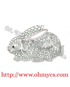 Henna Bunny Picture