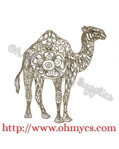 Henna Camel Picture