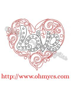 Henna Heart Love Picture