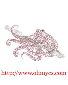 Henna Octopus Picture